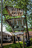 The Rest Haven Motel along Route 66 in Afton Oklahoma has not been open to guests for quite some time.