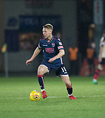 2nd December 2017, Global Energy Stadium, Dingwall, Scotland; Scottish Premiership football, Ross County versus Dundee; Ross County's Jamie Lindsay