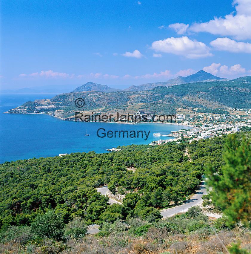 Greece, Attica, Saronic Islands Aegina, Agia Marina: Resort and main tourist spot on the island   Griechenland, Attika, Saronische Inseln Aegina, Agia Marina: touristisches Zentrum der Insel