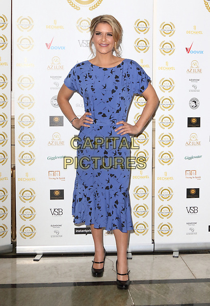 Gemma Oaten at the National Film Awards at the Porchester Hall, London on  Wednesday 28 March 2018 <br /> CAP/ROS<br /> &copy;ROS/Capital Pictures