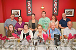 Family Gathering: The Durkin family celebrated their family get together with an outing to Eabha Joan's restaurant in Listowel on Saturday evening last. Front: Shauna Slemon, Ellen O'Connor, Kathleen &amp; Johnny Durkin &amp; John O'Connor. <br />
