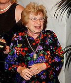 Washington, DC - May 4, 2002 -- Dr. Ruth Westheimer arrives at the 2002  White House Correspondent's Dinner at the Washington Hilton Hotel in Washington, D.C. on May 4, 2002..Credit: Ron Sachs / CNP
