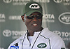 New York Jets Head Coach Todd Bowles speaks with the media after a day of training camp at the Atlantic Health Jets Training Center in Florham Park, NJ on Monday, Aug. 6, 2018.