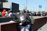 Roma, 21 Aprile 2017<br /> Conferenza stampa presso la Stazione Tiburtina dei volontari di Baobab Experience, Medu e Action per spiegare quale sia realmente la situazione dei migranti e rifugiati, e ribadire la necessit&agrave; di un'accoglienza degna e politiche di inclusione come uniche vie percorribili.<br /> Il Presidio autogestito di Piazzale Spadolini &egrave; divenuto nei mesi un punto fondamentale di prima accoglienza per i migranti transitanti in attesa dello status di rifugiato.