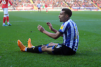 Jacob Murphy of Sheffield Wednesday reaction to be fouled in the box during Charlton Athletic vs Sheffield Wednesday, Sky Bet EFL Championship Football at The Valley on 30th November 2019