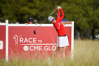 Chella Choi (KOR) watches her tee shot on 10 during round 4 of the Volunteers of America Texas Classic, the Old American Golf Club, The Colony, Texas, USA. 10/6/2019.<br /> Picture: Golffile | Ken Murray<br /> <br /> <br /> All photo usage must carry mandatory copyright credit (© Golffile | Ken Murray)