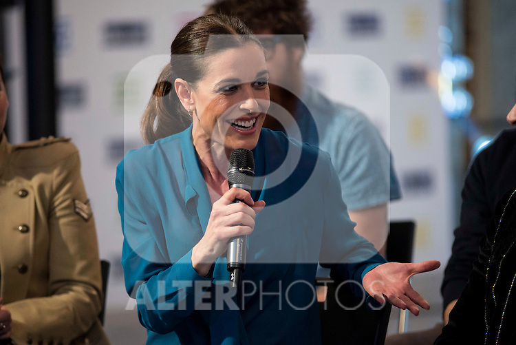 Raquel Sanchez Silva during the presentation of the new TV program to Movistar+,  &quot; Likes &quot; at 7 y accion studios in Madrid. January 27, 2016.<br /> (ALTERPHOTOS/BorjaB.Hojas)