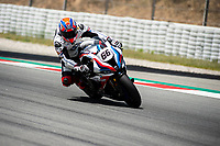9th July 2020; Circuit de Barcelona Catalunya, Barcelona, Spain; FIM Superbike World Championship Test, Day Two; Tom Sykes of the MW Motorrad WORLDSBK Team in action with the BMW S1000 RR