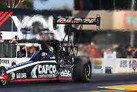 Jul. 25, 2014; Sonoma, CA, USA; NHRA top fuel driver Billy Torrence during qualifying for the Sonoma Nationals at Sonoma Raceway. Mandatory Credit: Mark J. Rebilas-
