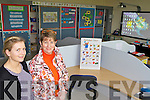 AUTISM UNIT: Teacher Bridin Butler and principal Eily Walsh at the autism unit in the new national school in Ballybunion.