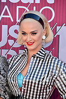 LOS ANGELES, CA. March 14, 2019: Katy Perry at the 2019 iHeartRadio Music Awards at the Microsoft Theatre.<br /> Picture: Paul Smith/Featureflash
