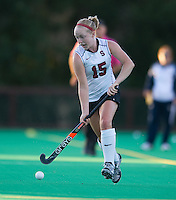 STANFORD, CA - September 3:  Colleen Ryan during a field hockey match against UC Davis, September 3, 2010 in Stanford, California. Stanford won 3-1.