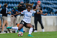 Bridgeview, IL - Sunday June 25, 2017: Kayla Mills during a regular season National Women's Soccer League (NWSL) match between the Chicago Red Stars and Sky Blue FC at Toyota Park. The Red Stars won 2-1.