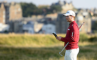 Chris Stroud of USA looks on during Round 3 of the 2015 Alfred Dunhill Links Championship at the Old Course, St Andrews, in Fife, Scotland on 3/10/15.<br /> Picture: Richard Martin-Roberts | Golffile