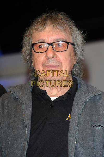 LONDON, UK, MARCH 01: Bill Wyman on stage ahead of Albert Lee's 70th Anniversary Concert at Cadogan Hall on March 1, 2014 in London, United Kingdom.<br /> CAP/CJ<br /> &copy;Chris Joseph/Capital Pictures