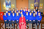 The pupils of Siabh a'Mhadra NS Ballyduff who were confirmed in St Peters and Paul, Church, Ballyduff by Fr Tadgh Fitzgerald assisted by Fr Brendan Walsh PP Ballyduff and Causeway. Front l-r: Jack farrell, Patrick Murphy, Clodagh O'Carroll, Chloe Boyle, Fr Tadgh Fitzgerald, Jason Power, Maggie Nolan, Ruby O'Riordan, Valerie Kiely, Aaron Craske and Aiden Whelan. Centtre l-r: Ben Tobin, Cara Segal, Alysia Guiney, Niamh O'Sullivan, Ian Cremin, Ryan Flynn, Róisín Teaque, Maryann White and Katie Barry. Back l-r: Mia Fitzpatrick, Claudia Healy, Gearóid O'Neill, Kailem Cotter, Fr Brendan Walsh and Maurice O'Connor (teacher).