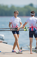 Caversham, Nr Reading, Berkshire.<br /> <br /> Joel CASSELLS. Olympic Rowing Team Announcement morning training before the Press conference at the RRM. Henley.<br /> <br /> Thursday  DATE}<br /> <br /> [Mandatory Credit: Peter SPURRIER/Intersport Images]