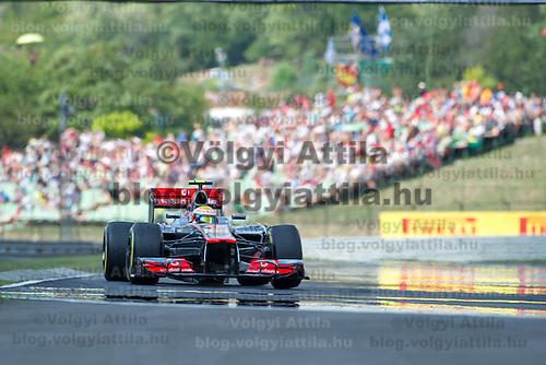 Hungarian F1 Grand Prix in Mogyorod (about 20km north-east from Budapest), Hungary. 28. July 2012. ATTILA VOLGYI