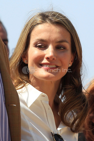 Princess Letizia and Prince Felipe visit the National Park of Sierra de Guadarrama at Rascafria in Madrid, Spain<br /> C. Kasady/insight media /MediaPunch Inc. ***FOR USA ONLY***