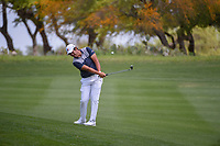 Byeong Hun An (KOR) chips on to 1 during day 1 of the Valero Texas Open, at the TPC San Antonio Oaks Course, San Antonio, Texas, USA. 4/4/2019.<br /> Picture: Golffile | Ken Murray<br /> <br /> <br /> All photo usage must carry mandatory copyright credit (© Golffile | Ken Murray)