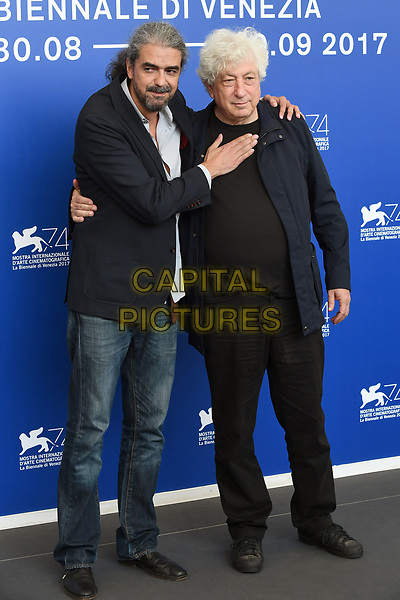 VENICE, ITALY - SEPTEMBER 6: Fernando Leon de Aranoa and Avi Lerner attend the photocall for Loving Pablo during the 74th Venice Film Festival on September 6, 2017 in Venice, Italy.<br /> CAP/BEL<br /> &copy;BEL/Capital Pictures