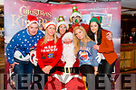 Launch of the Christmas in Killarney Tops of the Town in the Plaza Hotel, Killarney last Monday night. Pictured L-R Aidan Moynihan, Myra Fitzgerald, Ciara Treacy, Santa, Daire O'Brien, Grainne O'Sullivan and Elaine Courtney.