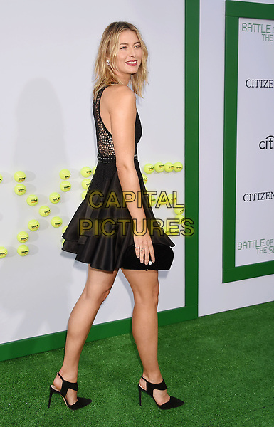 WESTWOOD, CA - SEPTEMBER 16:  Professional tennis player Maria Sharapova at the Premiere Of Fox Searchlight Pictures' 'Battle Of The Sexes' at Regency Village Theatre on September 16, 2017 in Westwood, California.<br /> CAP/ROT/TM<br /> &copy;TM/ROT/Capital Pictures
