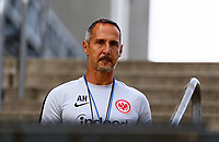 Trainer Adi H&uuml;tter (Eintracht Frankfurt) - 21.08.2018: Eintracht Frankfurt Training, Commerzbank Arena, DISCLAIMER: <br /> DFL regulations prohibit any use of photographs as image sequences and/or quasi-video.