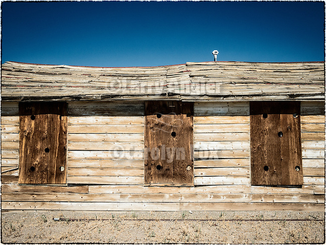 Three boarded windows, Mina, Nev.