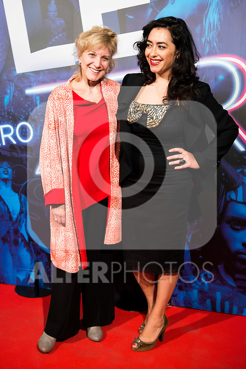 Marisa Paredes and Maria Isasi attends to the premiere of the The Hole Zero Show at Teatro Calderon in Madrid. October 04, 2016. (ALTERPHOTOS/Borja B.Hojas)