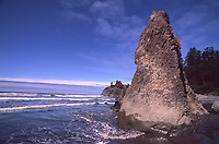 Ruby Beach, Olympic National Park, Washington, US