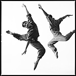 """Laceine Owsley Wedderburn and Damon Pooser in """"Take-Off From a Forced Landing,"""" 1984, Courtesy of Lois Greenfield, © Lois Greenfield"""