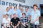 Marie Moynihan from Killarney nursing Home who won the Nursing Home Ireland Career of the Year in City West Dublin last Thursdaywith her Colleagues front row l-r: Marie O'Sullivan Barth Flynn, Brigid O'Riordan. Back row: Helena O'Connor, Richard O'Connor, Becky Reidy, james Broderick, Lara Martinez and Tara O'Sullivan