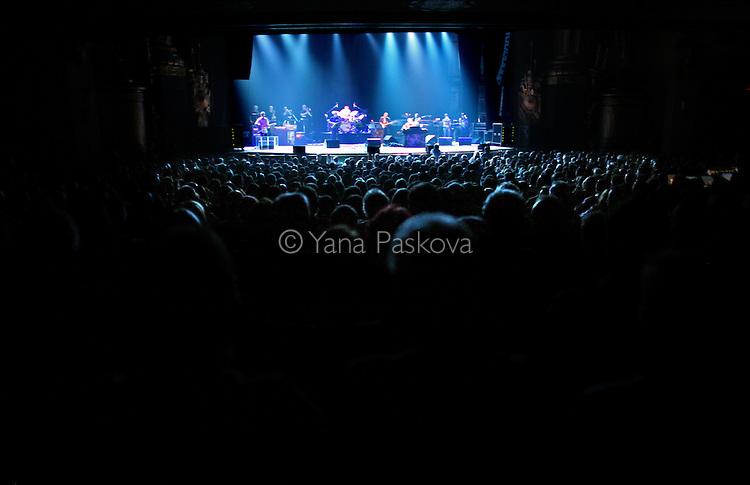 The American jazz fusion/rock band Steely Dan plays at the Beacon Theatre on Friday, June 13, 2008, in Manhattan, New York. (Photograph by Yana Paskova for The New York Times)..Assignment ID: 30063568A ..