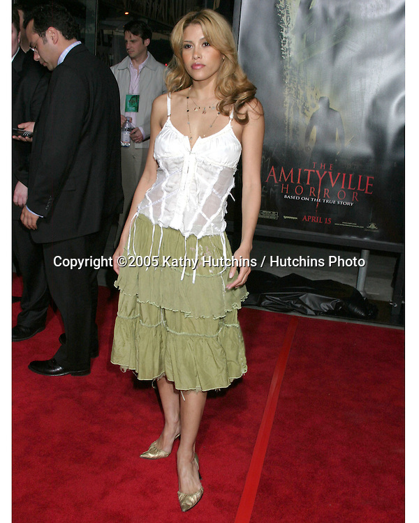Rachel Sterling.The Amitville Horror Premiere.ArcLight Theater.Los Angeles, CA.April 7, 2005.@2005 Kathy Hutchins / Hutchins Photo.