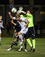The Winthrop University Eagles lose 2-1 in a Big South contest against the Campbell University Camels.  Magnus Thorsson (8), Ethan Hall (1)