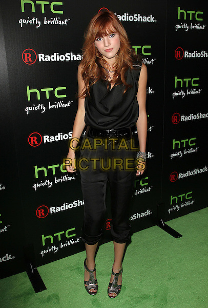 Bella Thorne.Radioshack's HTC EVO 3D Launch Party  Held At The RadioShack Pop-Up 3D Lounge, West HollywooD, California, USA, 23rd June 2011..full length  black jumpsuit catsuit belt sandals .CAP/ADM/KB.©Kevan Brooks/AdMedia/Capital Pictures.