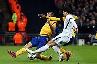 Son Heung-Min of Tottenham Hotspur during Tottenham Hotspur vs Juventus, UEFA Champions League Football at Wembley Stadium on 7th March 2018