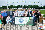 Castlemaine FC at the Kerry District League Awards night at the  Friends of University Hospital Kerry 'Night at the Dog' in the Kingdom Greyhound Stadium on Friday