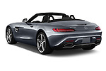 Car pictures of rear three quarter view of a 2018 Mercedes Benz AMG GT AMG GT 2 Door Roadster angular rear