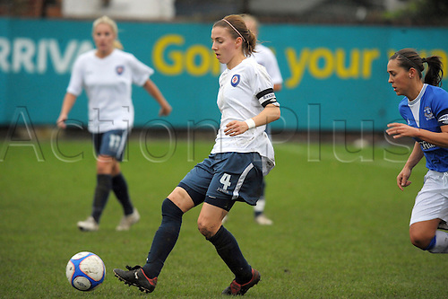 22.11.09 EVERTON LADIES V BRISTOL ACADEMY PLAYED AT MARINE FC CROSBY LIVERPOOL.WOMENS PREMIER LEAGUE. Grace McCatty of Bristol.Photo by Alan Edwards/actionplus.  Editorial Licenses Only