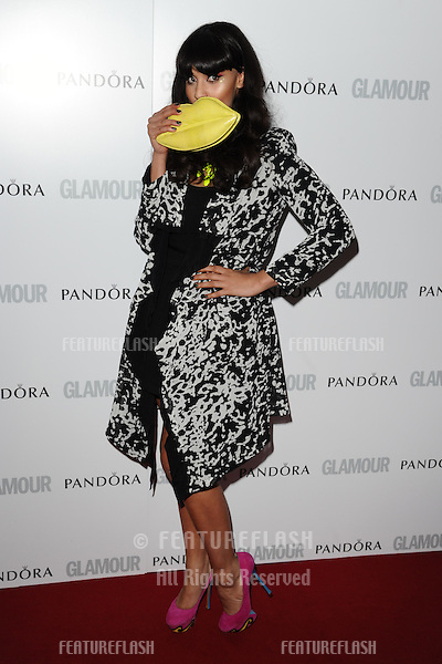Jameela Jamil arriving for the 013 Glamour Women of The Year Awards, Berkeley Square, London. 04/06/2013 Picture by: Steve Vas / Featureflash