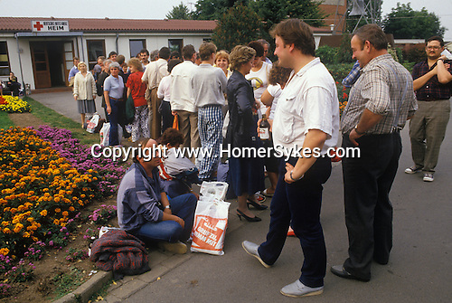 Friedland refugee camp West Germany. Polish refuges 1980's.
