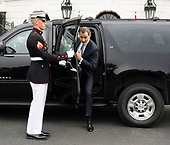 King Felipe VI of Spain arrives at The White House in Washington, DC to meet with United States President Donald J. Trump, June 19, 2018. Chris Kleponis/ CNP