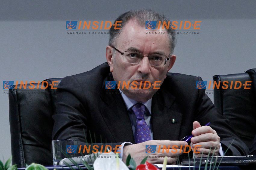 Il Presidente di Confindustria Giorgio Squinzi..Roma 24/05/20 Assemblea Generale di Confindustria.Foto Serena Cremaschi Insidefoto