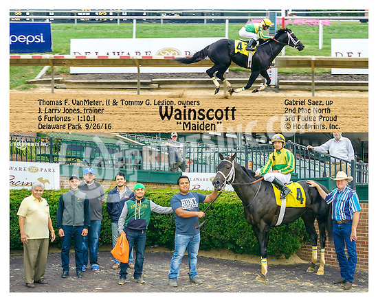 Wainscott winning at Delaware Park on 9/26/16