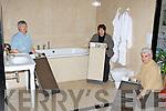 Declan, Paula and John O'Callaghan from National Tyle and Bathroom Centre, Killarney