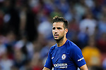 Chelsea Midfielder Cesc Fabregas in action during the International Champions Cup match between Chelsea FC and FC Bayern Munich at National Stadium on July 25, 2017 in Singapore. Photo by Marcio Rodrigo Machado / Power Sport Images