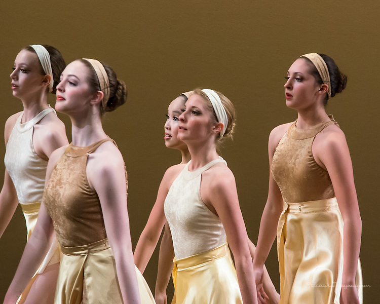 """""""United We Dance"""", the combined production of 3D Project Jazz and Cary Ballet companies Spring Concert. Friday, 6:30 PM, Cary Arts Center, 13 March 2014"""