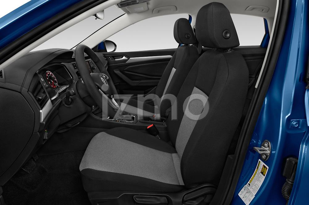 Front seat view of a 2019 Volkswagen Jetta S 4 Door Sedan front seat car photos